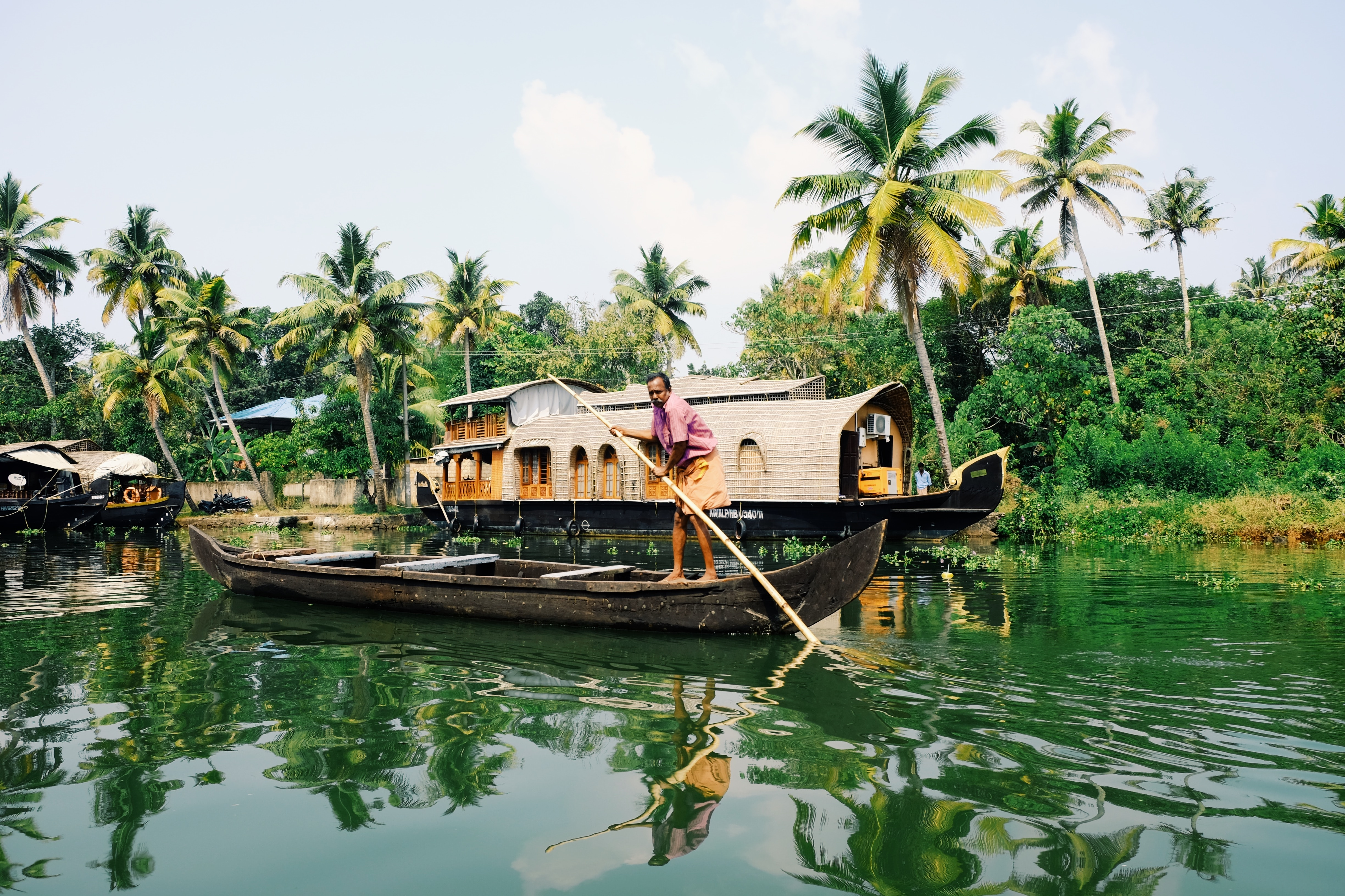 FROM ALLEPPEY TO ALAPPUZHA - THE HOUSEBOATS OF KERALA