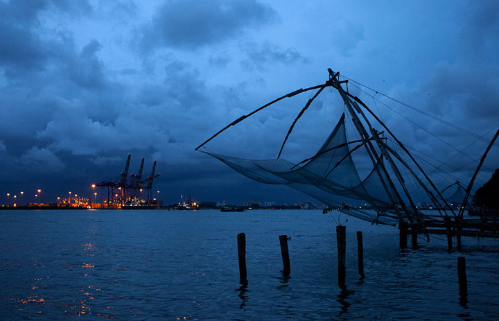 View from Fort Kochi